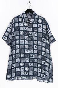 VIA CORTESA - kurzarm-hemd mit print - XXL