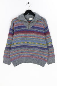 GIORGIO - muster-troyer-pullover aus woll-mix mit alpaka - S