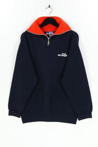 one design - troyer-pullover mit stickereien, aus woll-mix - S