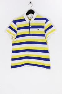 LACOSTE - polo-shirt mit streifen - M