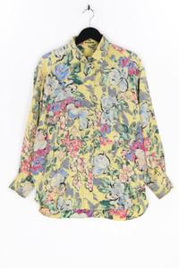 JIL SANDER - seiden-bluse mit floralem muster - D 40