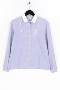 tru blouse - hemd-bluse mit stickereien - D 42