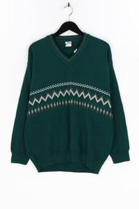 Alyanta collection - muster- v-neck-pullover - XL