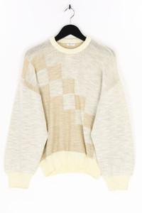 JACKY PEER - strick-pullover mit leinen - D 48