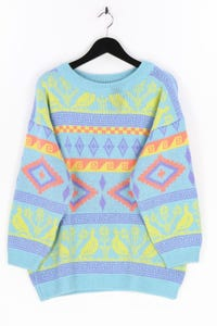 ESPRIT - muster-strick-pullover aus woll-mix - D 38