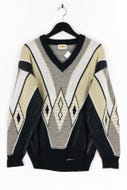 FASHION AND STYLE - muster-v-neck-pullover - 48