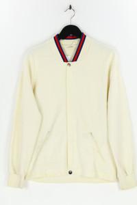 TREVIRA - zipper-cardigan mit logo-knöpfen - XL