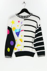 NUOVA MODA - strick-pullover  mit applikationen - XL