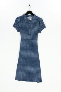 SMASHED LEMON - strick-kleid mit geo-print - D 38-40