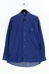LACOSTE - jeans-hemd mit logo-applikation - L