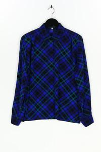 AKRIS - karo-bluse aus wolle - D 42
