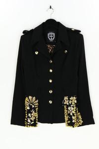Marincolo Couture - blazer mit reverskragen im military-stil mit pailletten - S