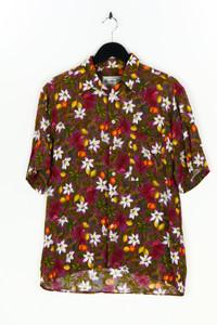 VINCI - hawaii-kurzarm-hemd mit blumen-print - M