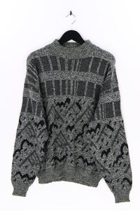 NEW FAST by C&A - strick-rundhals-pullover mit wolle - L