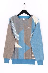 adidas - rundhals-pullover mit logo-stickerei - 50