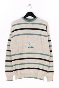 Angelo Litrico C&A - rundhals-pullover mit streifen - L